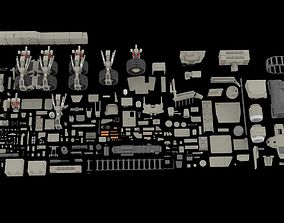 Mechanics collection 2 Kitbash 3D