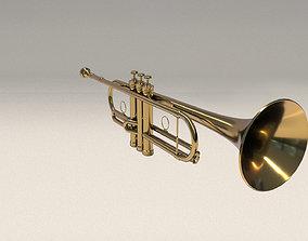 3D Trumpet rea