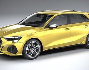 Audi S3 2021 3D model