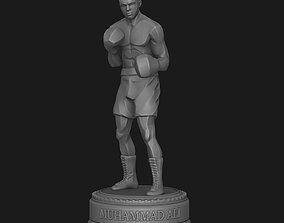 Muhammad Ali Statue HIGHPOLY 3D print model
