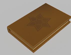 Stylized Book 3D model VR / AR ready