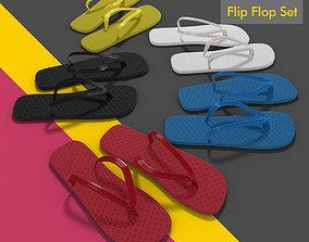Flip Flop Thong Sandals 3D