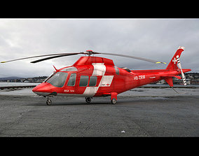 3D model Agusta AW 109 Emergency