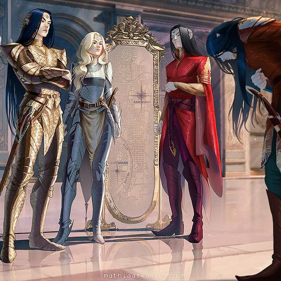 elantra: High Lord, Consort, Evarrim and Ynpharion