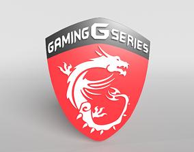 MSI Logo 01 - 4K Texture 3D model