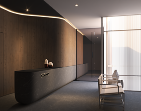 visualization 3D Lobby Scene