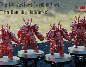 The Harvesters - Roaring Bulwark - Bruins 3D print model 1