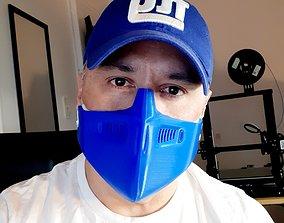 3D print model Futuristic Protection Mask