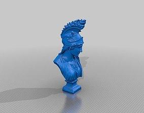 Greek Bust 3D Scan