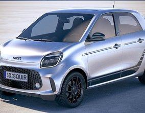 Smart EQ Forfour 2020 3D