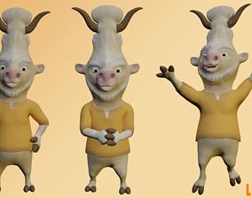 Pet Lucumi Complete 3D asset