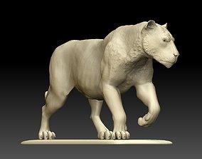 figurines Lion Sculpture 3d print model