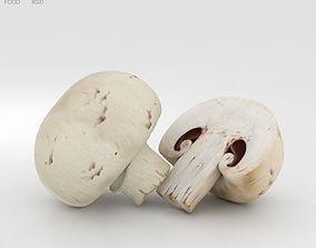 portobello 3D model Champignon