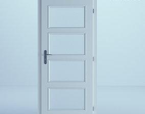 3D White Door 12