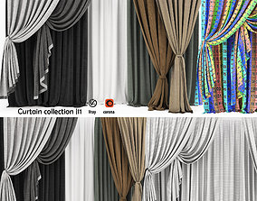 realistic Curtain collection 11 3D