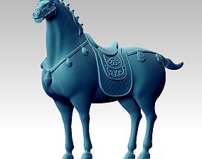 Horse antique 3D print model