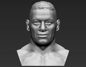 John Cena bust 3D printing ready stl obj