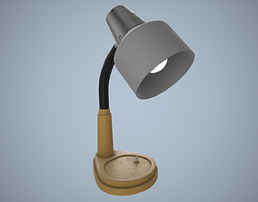 Old table lamp 3D model