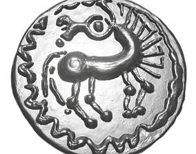 3D printable model Celtic coin 1