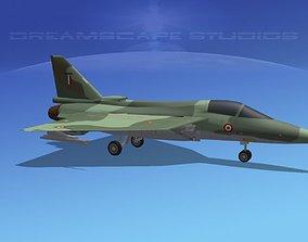3D asset HAL Tejas Fighter V02