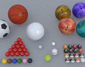 Ball Sports Pack 3D asset