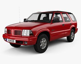 3D Oldsmobile Bravada 1998