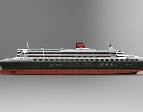3D model The ship Queen Mary
