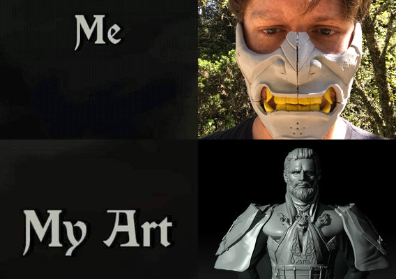 me and my art 2020