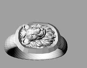 3D print model lion breslet
