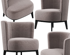3D lounge-chair Marelli Derek armchair