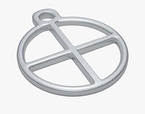 Earth symbol 3D model game-ready