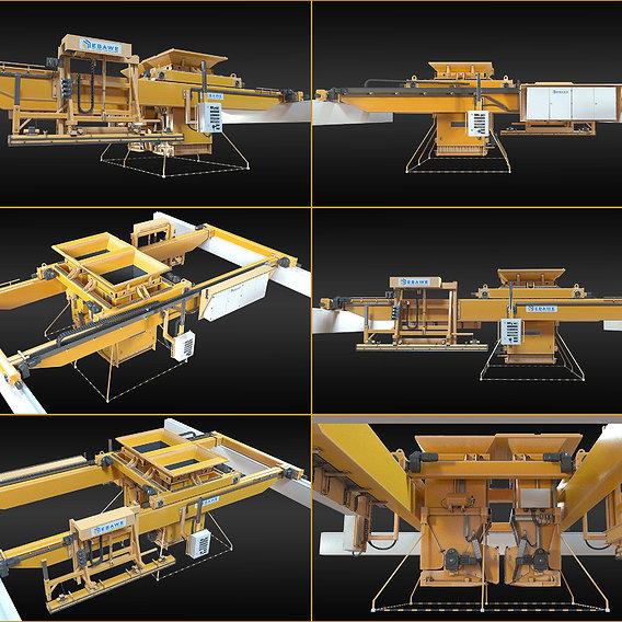 Machines concrete plant