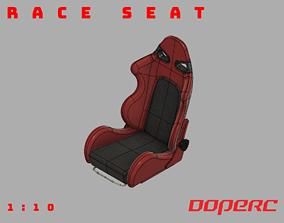 3D print model 1to10 RC Race Seat bride