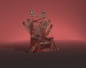 3D model Skulls Throne