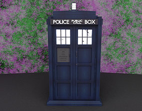 Tardis - Police Box - Doctor Who 3D