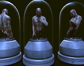 3D model The experiment horror