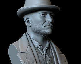 3D printable model Orlando Bloom Philo Rycroft 4