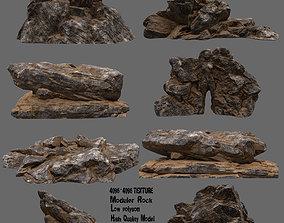 Desert Rocks 02 3D model
