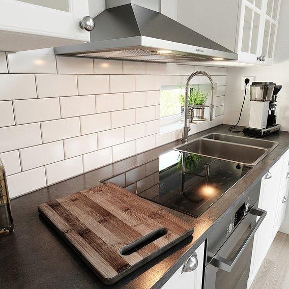 Cottage house - Scandinavian style