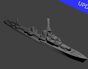 3D printable model German Type 1936A Destroyer