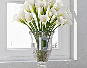 3D Calla Lily bouquet