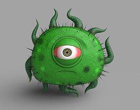 3D model Virus Character