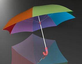 Umbrella 3d model low-poly