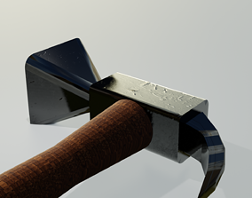 Hammer 3D model game-ready weapon