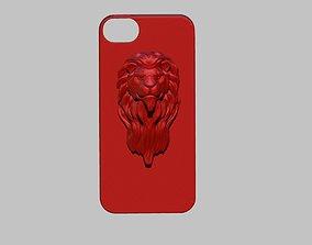 3D printable model Lion Head Iphone Case