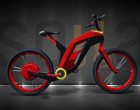 Soka electric bike 3D