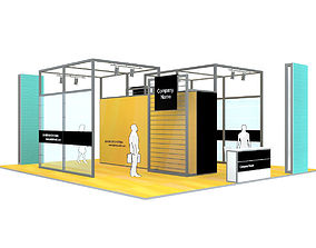 commercial 3D Exhibition Stand