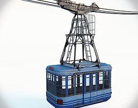 Cableway 3D model