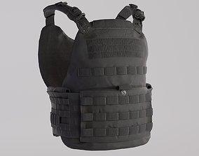 Tactical Bullet Proof Vest - PBR Lowpoly Game 3D asset