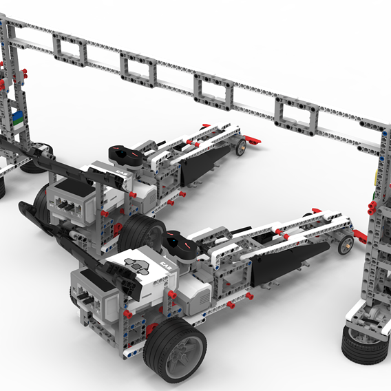 LEGO EV3 Dragsters